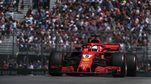 Imago Formel eins Vettel