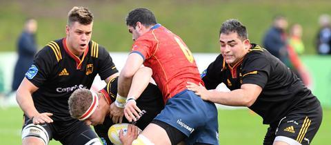 Szene aus einem Rugby-Spiel