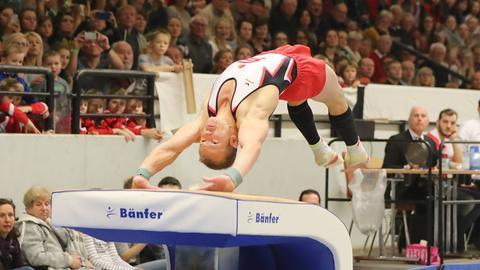 Fabian Hambüchen im Wettkampf