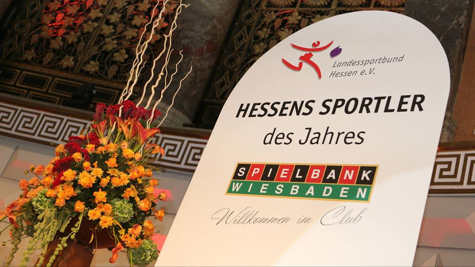 Banner: Hessens Sportler des Jahres