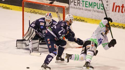 Kassel Huskies gegen Bietigheim