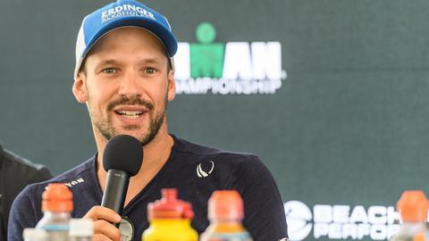 Patrick Lange beim Ironman Hawaii