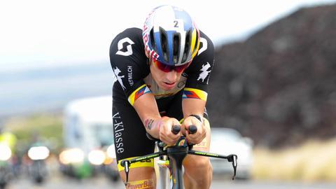 Sebastian Kienle auf dem Rad