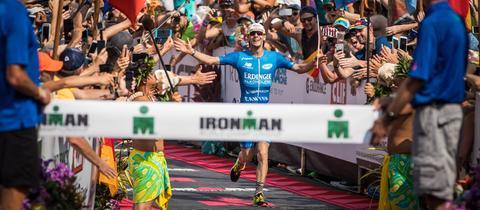 Patrick Lange beim Ironman Frankfurt