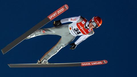 Stephan Leyhe im Flug