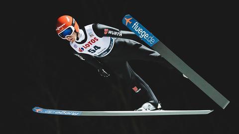 Stephan Leyhe beim Sprung
