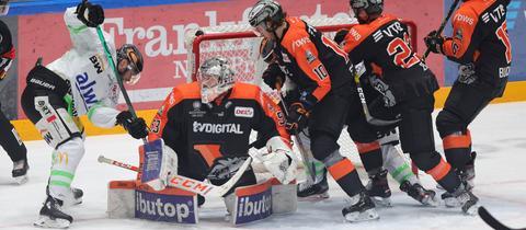 Löwen Frankfurt im Viertelfinale gegen Bietigheim