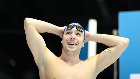 Marco Koch, Schwimmer