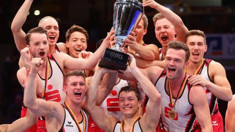 Die KTV Obere Lahn feiert den deutschen Meistertitel