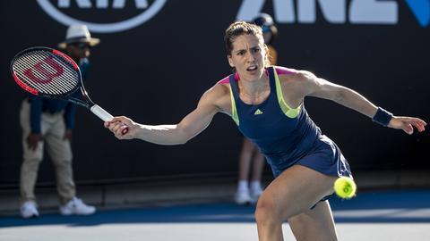 Andrea Petkovic bei den Australian Open
