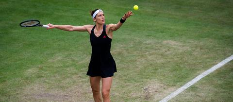 Andrea Petkovic in Aktion