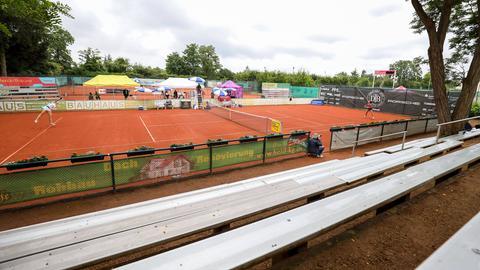Sujetbild: Ein Tennisturnier in Darmstadt