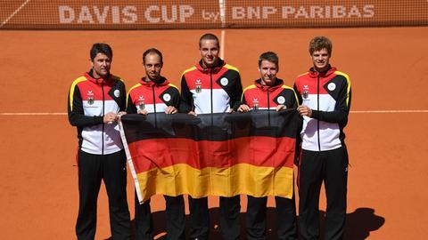 Deutsches Davis-Cup-Team mit Pütz vor Klassenerhalt