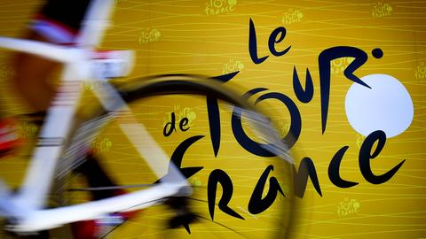 Das Logo der Tour de France