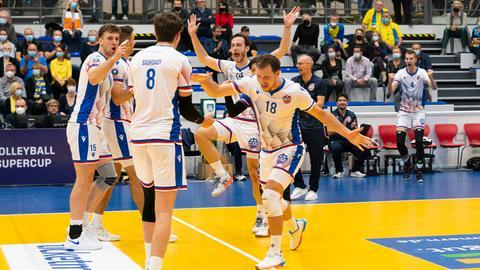 Die United Volleys jubeln