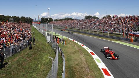 Sebastian Vettel beim Großen Preis von Italien