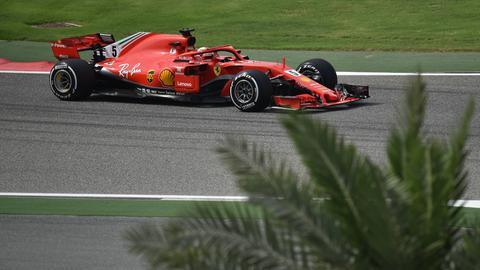 Sebastian Vettel beim Grand Prix von Bahrain