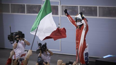 Vettel jubelt