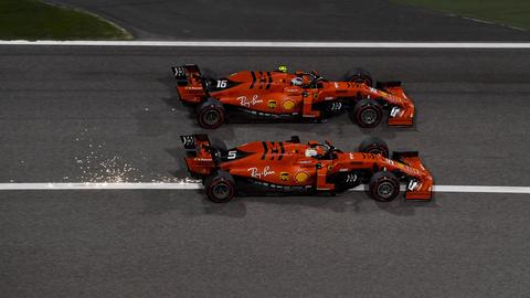 Die Ferrari-Boliden