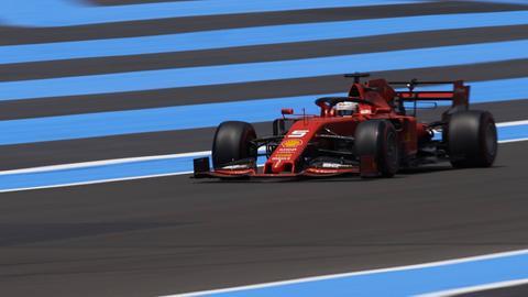 Sebastian Vettel beim Großen Preis von Frankreich