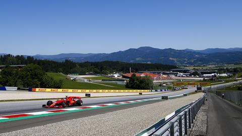 Sebastian Vettel beim GP von Österreich