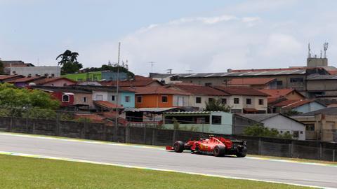 Sebastian Vettel beim Großen Preis von Brasilien