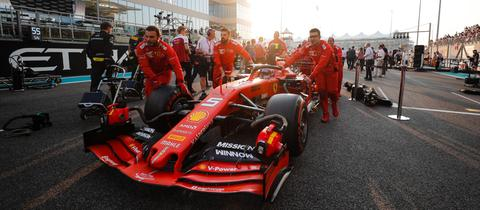 Sebastian Vettels Ferrari