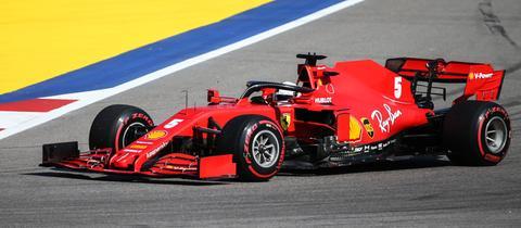 Sebastian Vettel in Sotschi