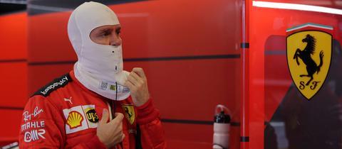 Sebastian Vettel beim Großen Preis von Abu Dhabi