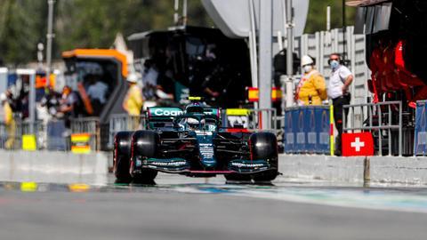 Sebastian Vettel beim Grand Prix von Spanien