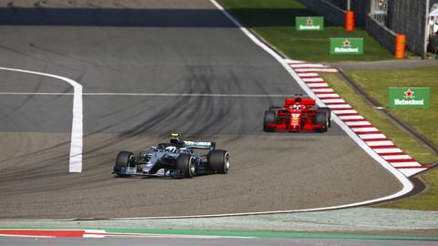 Sebastian Vettel beim Großen Preis von China