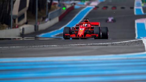 Imago Vettel Frankreich