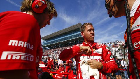 Formel-1-Star Sebastian Vettel in Suzuka