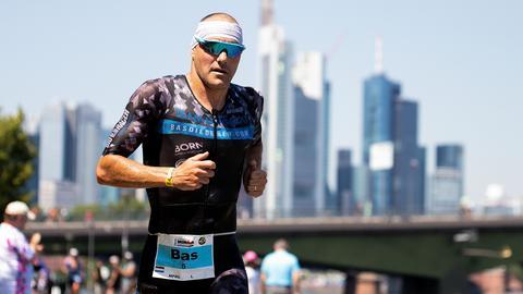 Triathlet Bas Diederen beim Ironman Frankfurt