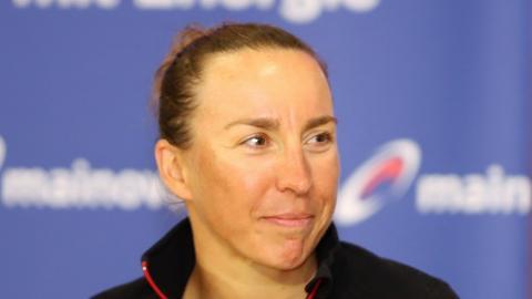 Triathletin Anne Haug