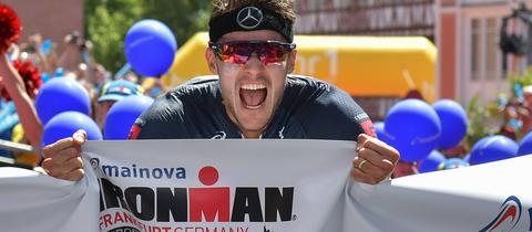 Jan Frodeno beim Ironman in Frankfurt