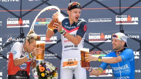 Die Ironman-Siegerehrung