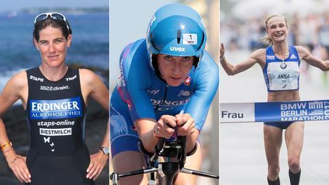 Nicole Leder, Laura Philipp und Anna Hahner