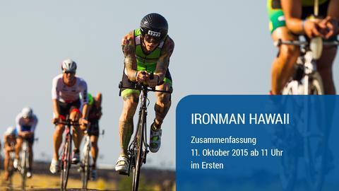 Ironman Hawaii Grafik 2015