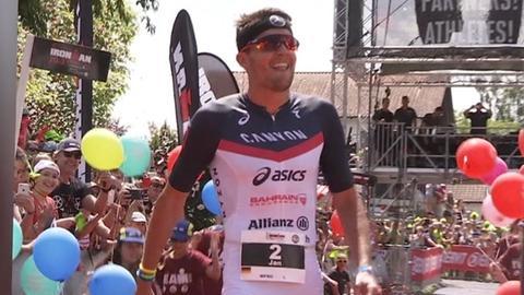 Jan Frodeno beim Ironman im Kraichgau