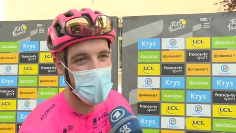 Jonas Rutsch bei der Tour de France
