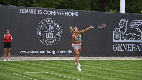 Angelique Kerber bei den Bad Homburg Open