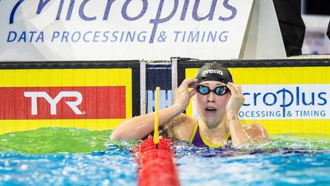 Sarah Köhler hat bei der Kurzbahn-Schwimm-EM in Kopenhagen zwei Medaillen für Deutschland gesammelt.