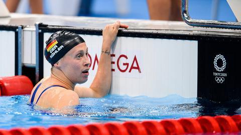 Enttäuschung bei Sarah Köhler nach dem 800-Meter-Finale