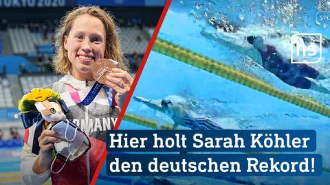 Die letzten Sekunden: Sarah Köhler holt Bronze