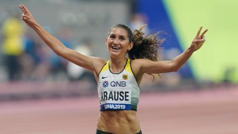 Gesa Krause WM-Bronze