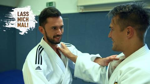 Sebastian Rieth beim Judo mit Alex Wieczerzak