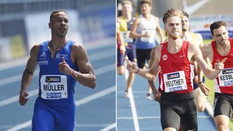 Steven Müller und Marc Reuther bei den Deutschen Meisterschaften in Braunschweig