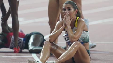 Gesa Krause war über die Olympia-Absage geschockt.