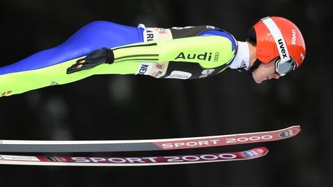 Stephan Leyhe beim Teamspringen in Willingen